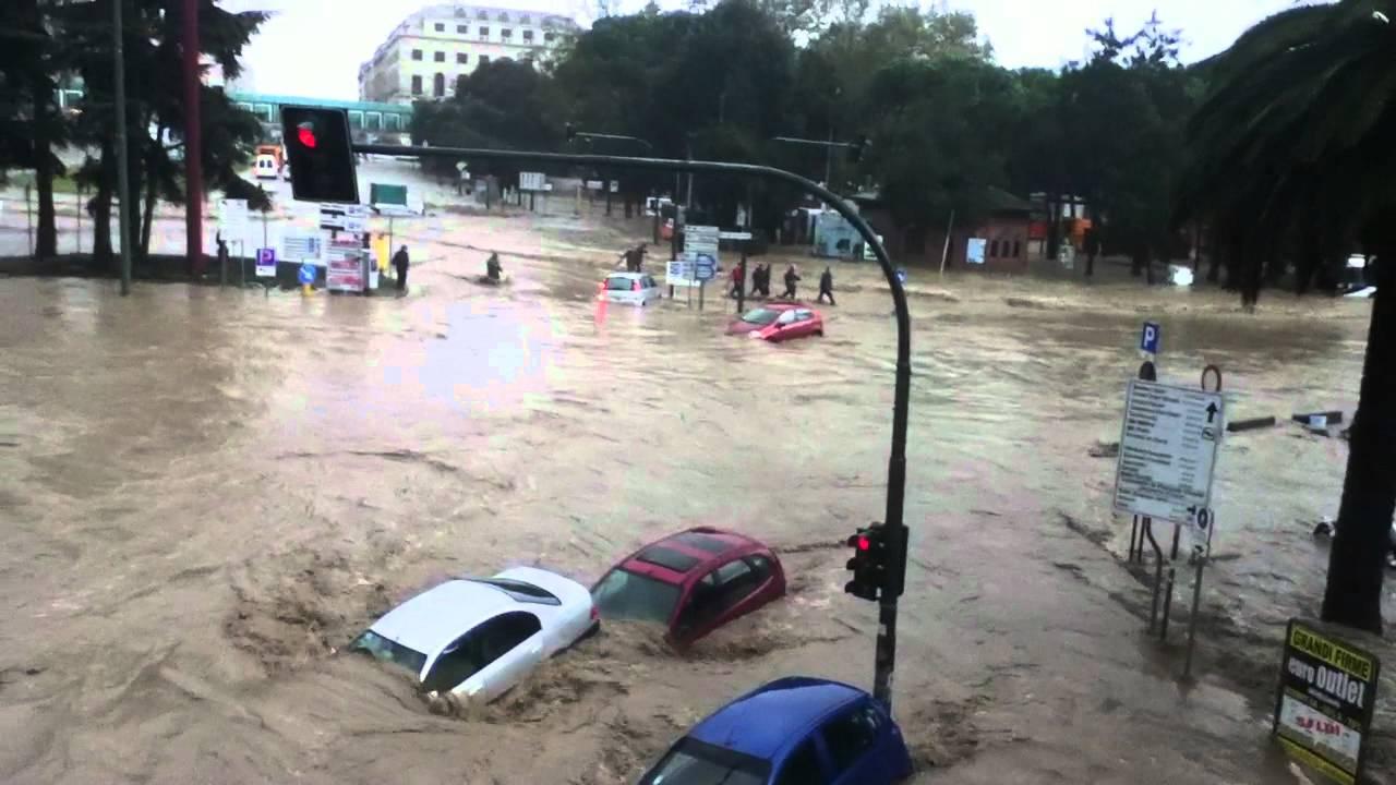 Immagine dell'alluvione in Toscana 4 Novembre 2011