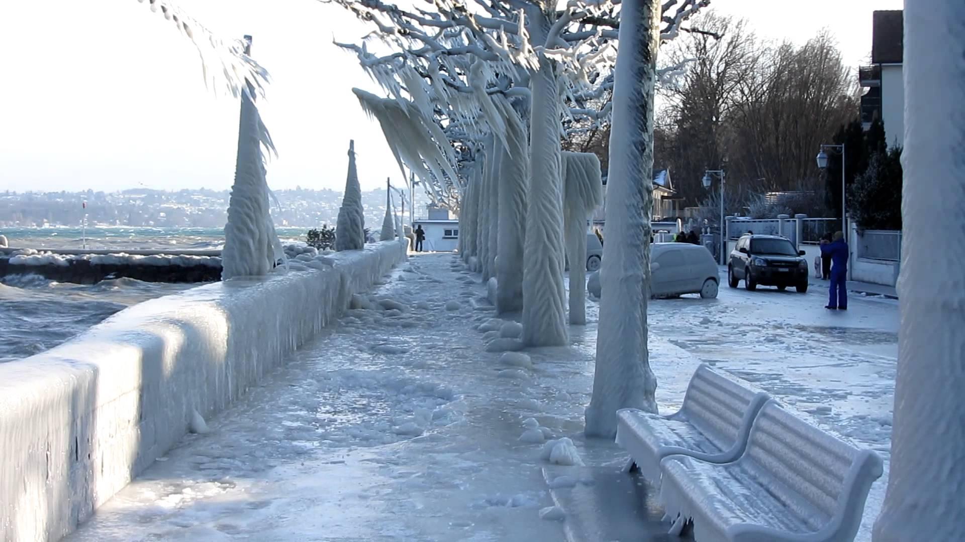 Arriva il gelo in europa