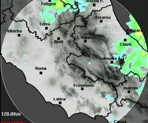 radar meteo lazio